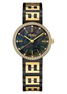 Fendi Forever Fendi Diamond Bracelet Watch, 29mm