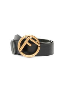 Forever Fendi Logo Embossed Belt