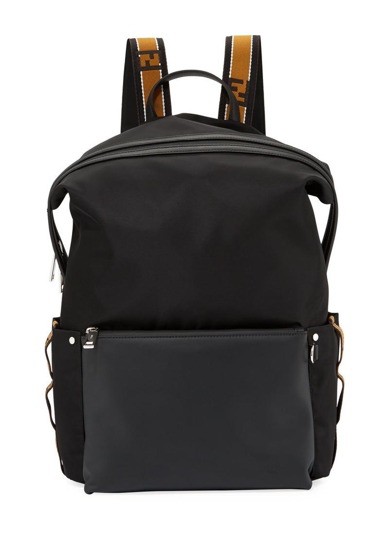 Fendi Fendi Forever Fendi Men s Striped Backpack  d24bd15585cb4