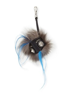 Fendi Fur Face Charm for Bag/Briefcase