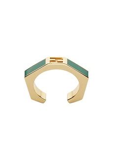 Fendi geometric ring