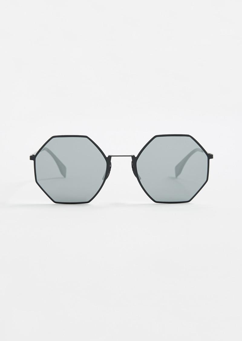 bae112cbb8e Fendi Fendi Geometric Sunglasses
