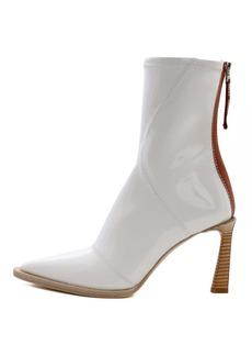 Fendi Glossy Boot White