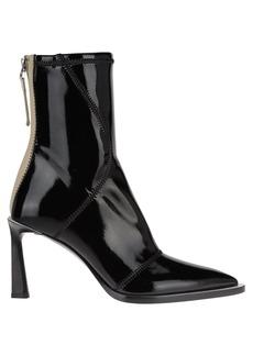 Fendi Glossy Neoprene Ankle Boots