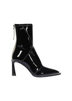 Fendi Glossy Pump Ankle Boots