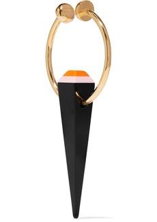 Fendi Gold-tone acrylic ear cuff