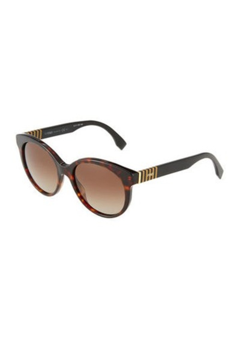 f5d021869c1 Fendi Fendi Gradient Acetate Butterfly Sunglasses