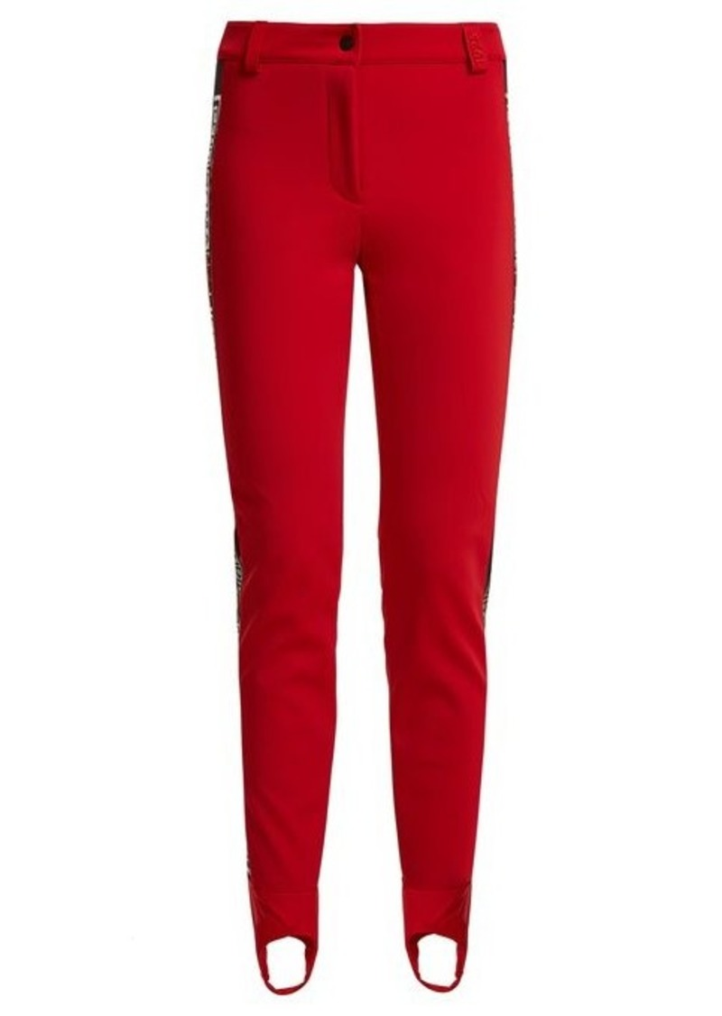 Fendi Fendi High-rise stirrup-hem ski trousers  0cc0fe59f