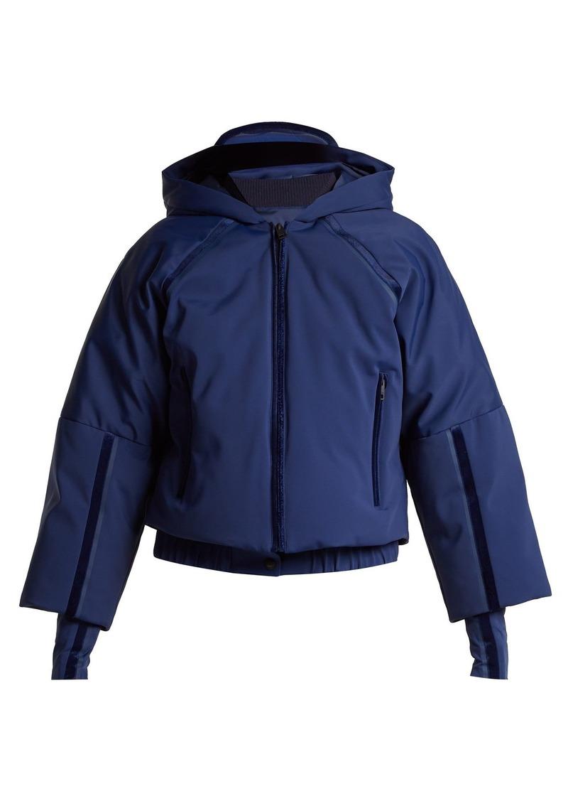 59537a73c0 Fendi Fendi Hooded cropped-sleeve down ski jacket