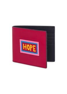 Fendi Hope Leather Billfold Wallet