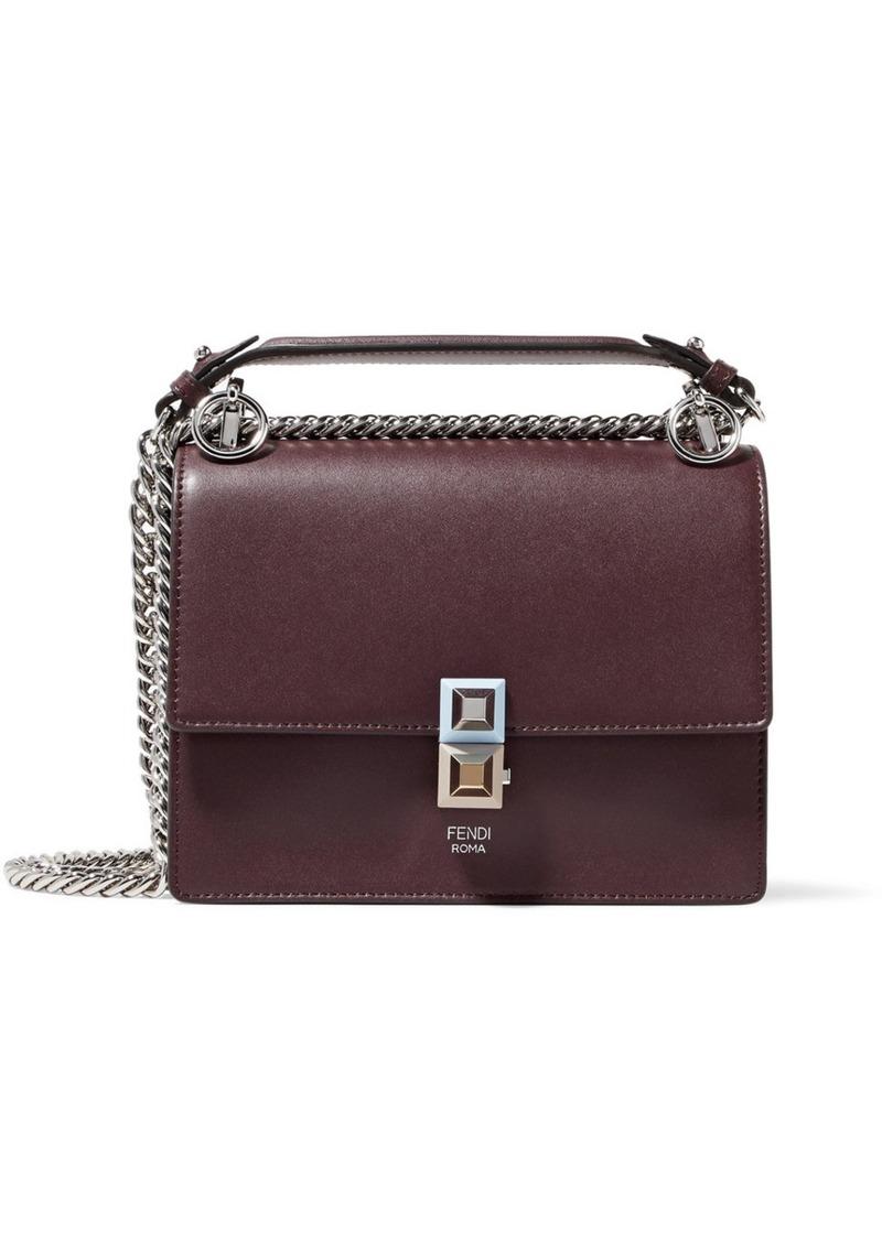 a2e9cf153bb6 Fendi Fendi Kan I mini leather shoulder bag