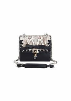 26a942bbc3c7 Fendi Fendi Kan I Small Calf Liberty and Python Shoulder Bag | Handbags
