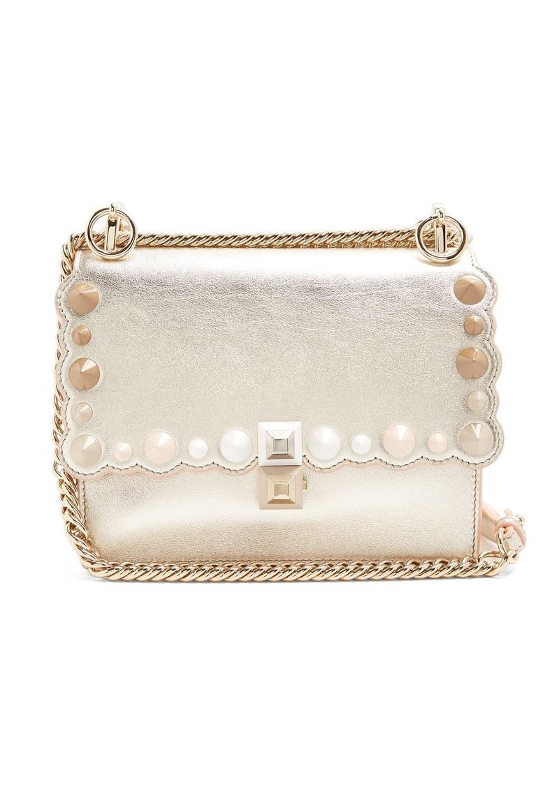 7412ad722b8d On Sale today! Fendi Fendi Kan I small leather cross-body bag
