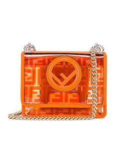 Fendi Kan I Small Logo Crossbody Bag