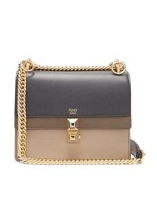 Fendi Kan I stripe small leather cross-body bag