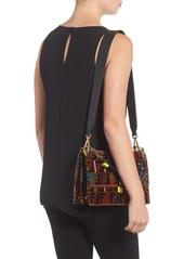 c1b838ba5f Fendi Fendi Kan I Tappetino Velvet Shoulder Bag