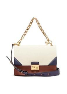 Fendi Kan U leather cross-body bag