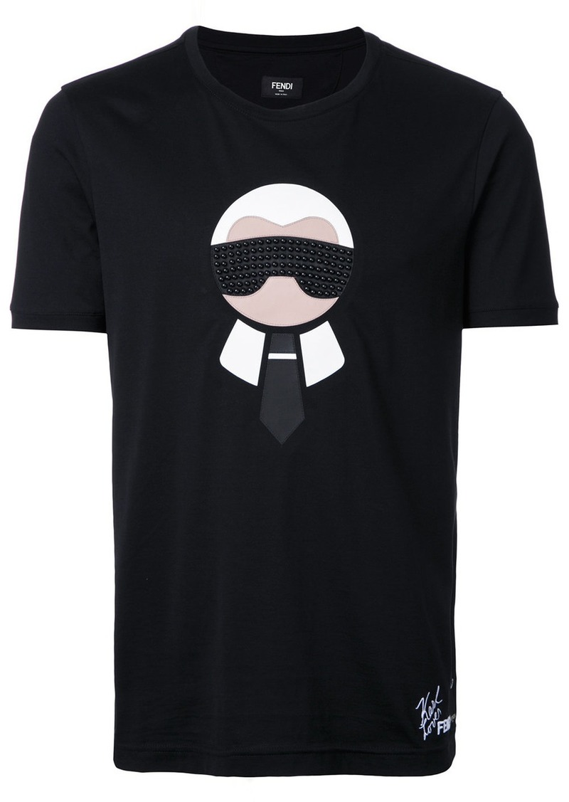 'Karl Loves Fendi' T-shirt