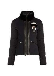 Fendi Karlito fur-trimmed performance jacket
