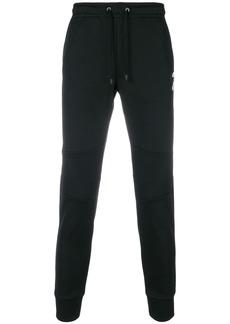Fendi Karlito patch sweatpants - Black