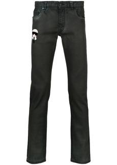 Fendi Karlito slim fit jeans - Black