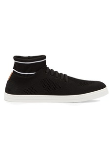 Fendi Knitted low-top trainers