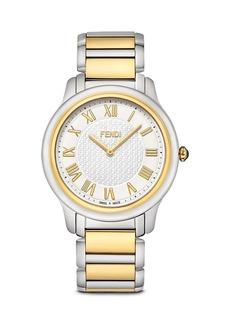 Fendi Large Two Tone Classico Watch, 40mm