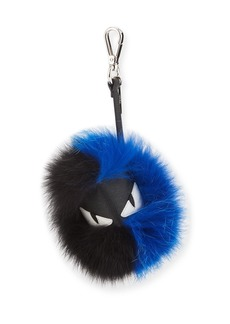 Fendi Leather and Fox Fur Bugs Charm