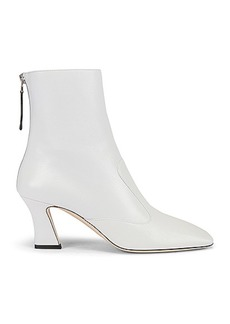 Fendi Leather Ankle Booties