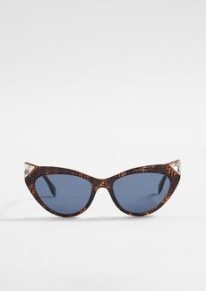 Fendi Logo Cat Eye Sunglasses