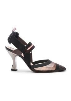 Fendi Colibri Slingback Heels