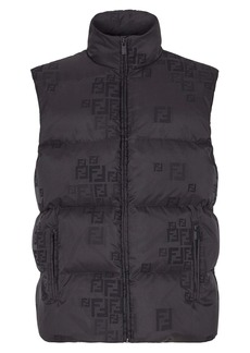 Fendi Logo Down Puffer Vest