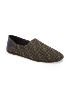 Fendi Logo Jacquard Slippers (Men)
