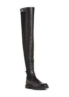 Fendi Logo Over the Knee Boot (Women)
