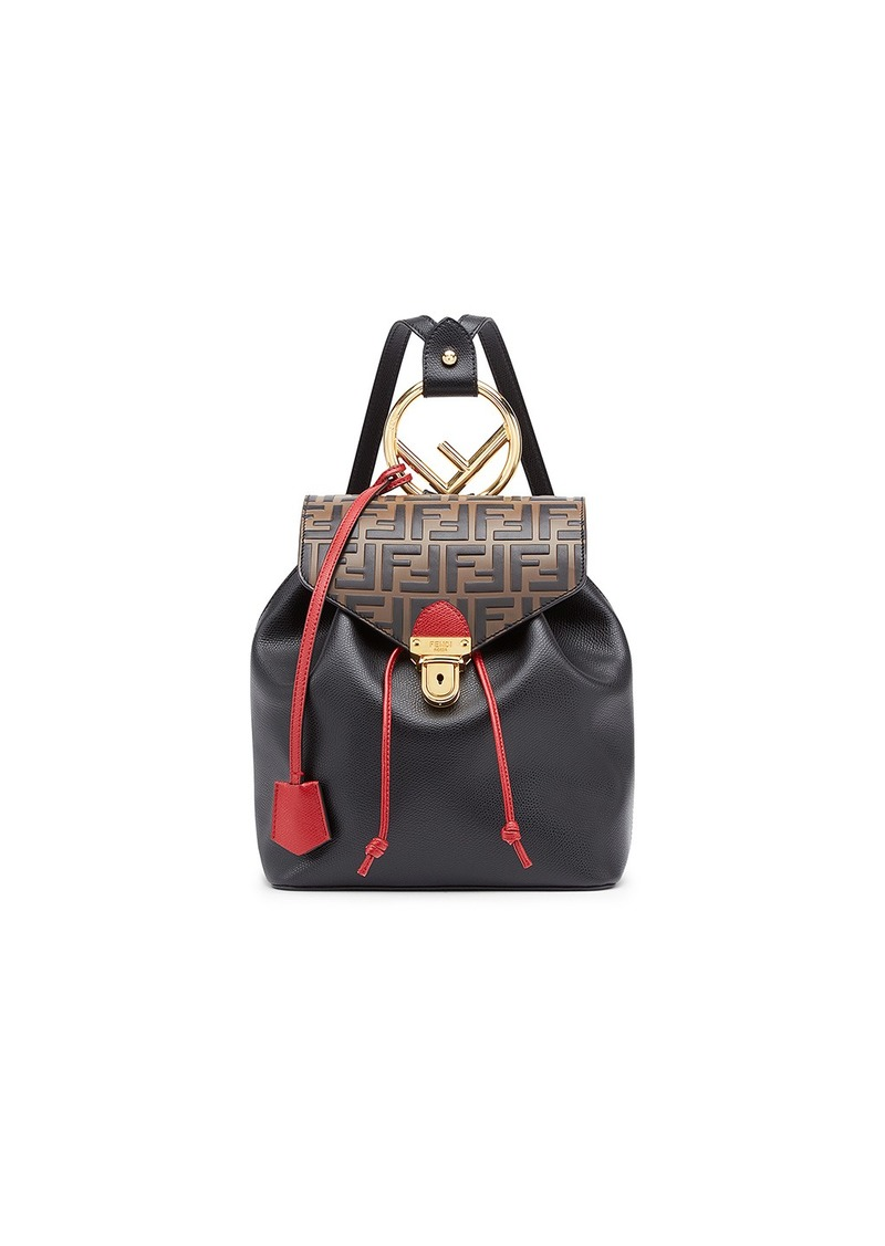 dfce3e6184de Fendi Fendi Logo Print Backpack