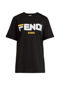 Fendi Logo-print cotton T-shirt