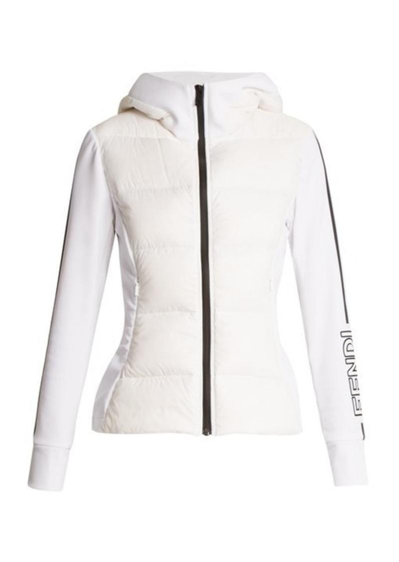 3e4f5dbae4 Fendi Fendi Logo-print quilted ski jacket