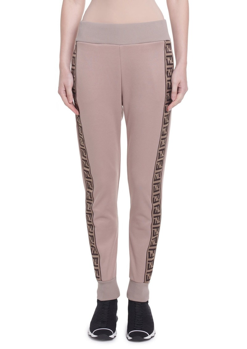 Fendi Logo-Striped Track Pants