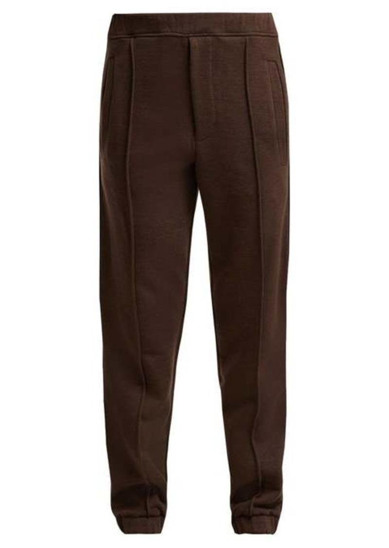 Fendi Logo-tape track pants