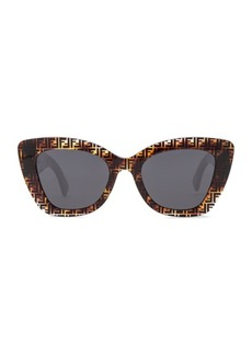 Fendi Logo Trim Sunglasses