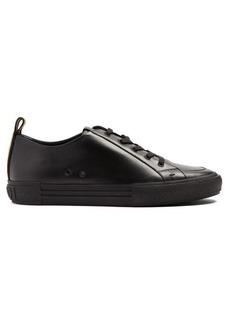 Fendi Low-top leather trainers