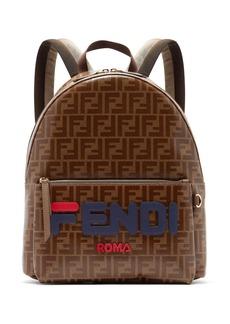 Fendi Mania FF-print leather backpack
