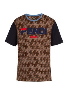 Fendi Mania logo-print cotton-jersey T-shirt