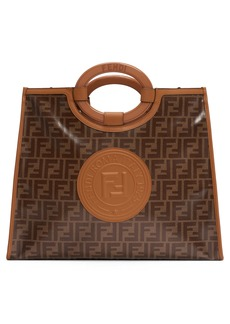 Fendi Medium Runaway Logo Shopper
