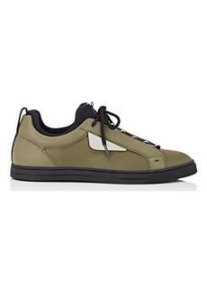 Fendi Men's Bag Bugs-Appliquéd Sneakers