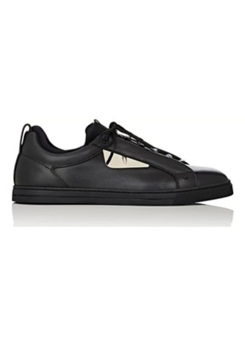 Fendi Men's Bag Bugs Leather & Neoprene Sneakers
