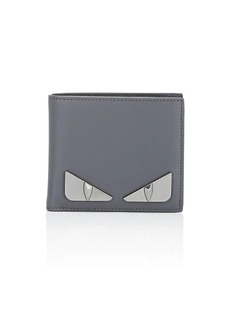 Fendi Men's Bag Bugs Leather Billfold