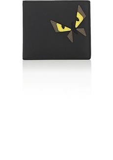 Fendi Men's Bag Bugs Leather Billfold - Black