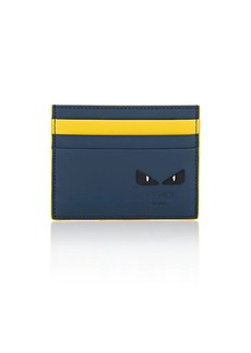 Fendi Men's Bag Bugs Leather Card Case