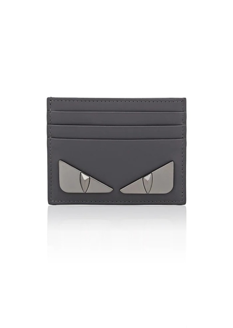 6e988d11c338 Fendi Fendi Men s Bag Bugs Leather Card Case - Gray